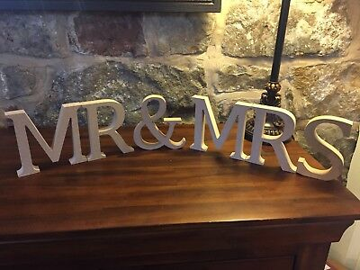 13cm Large Wooden Letters And Ampersands, & Signs Freestanding, Unpainted MDF • 4.99£