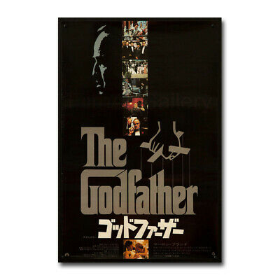 $ CDN12.05 • Buy The Godfather Vintage Movie Silk Canvas Posters Print 24x36 Inch Home Decor