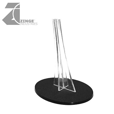 £6 • Buy Zinge Industries Plastic Oval Flying Base And Stand A-SPB05