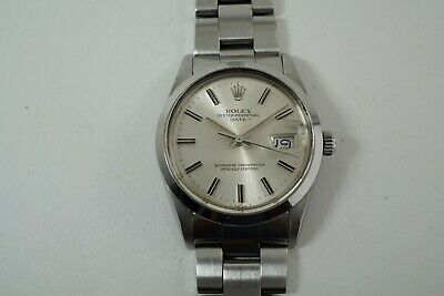 $ CDN6296.85 • Buy ROLEX 15000 DATE STAINLESS STEEL ORIGINAL CERTIFICATE & PAPERS W/ BOX DATES 1987