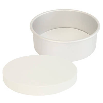 500 X 8   Inch - Greaseproof Circles - Round Baking Paper Tin Liners • 18.50£