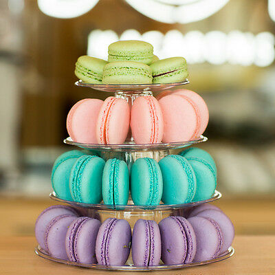 Display Tower For 35-40 Macarons French Macaroons 4 Tier Stand  • 12£