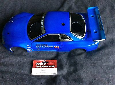 Nissan Skyline GTR, HB10721 Model Car Bodyshell,Painted And Trimmed,200mm NIP • 49£