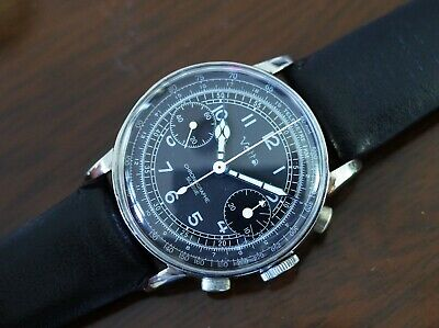 $ CDN1549.87 • Buy Vintage Men's Vetta Chronograph Valjoux 22 Fully Restored All Stainless Steel!!!