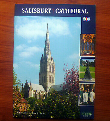 SALISBURY CATHEDRAL BROCHURE - PITKIN GUIDE - Near Mint Condition • 3.99£