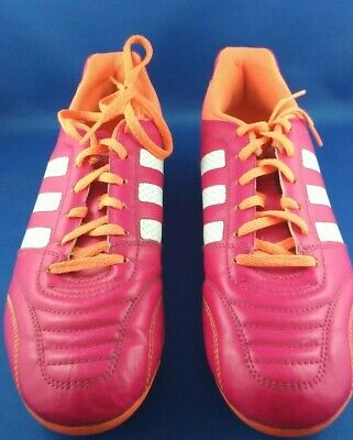 $ CDN14.99 • Buy Adidas Cleats Woman's Soccer Size 10 US Pink 8 1/2 UK Excellent Condition