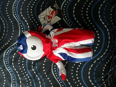 London 2012 Olympics Official Wenlock Union Flag Backpack • 19.99£
