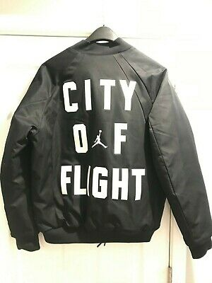 3c2781d0a8d41a Jordan Wings City Of Flight MA-1 BOMBER JACKET LA All-Star Game Black