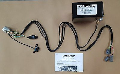 on k tuned wiring harness conversion