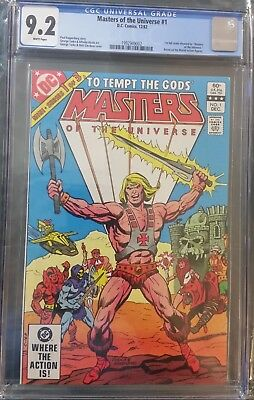 $115 • Buy Masters Of The Universe 1 CGC 9.2