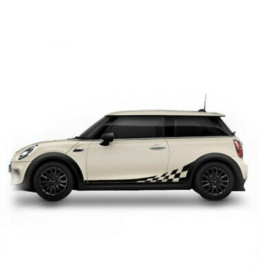 $20.29 • Buy A Pair Black Car Side Body Doors Vinyl Graphics Sports Decals Stickers Universal