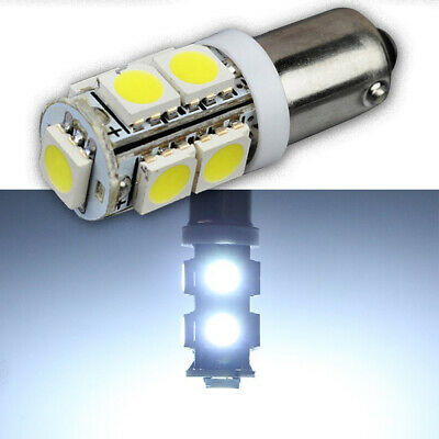 AU5.99 • Buy 2X BAX9s H6W 434 180LM XENON WHITE 9 LED CAR SIDELIGHT PLATE DOME MAP BULBS HID