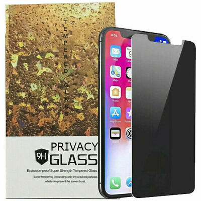 AU8.90 • Buy Anti-spy Privacy Tempered Glass Screen Protector For Apple IPhone XR XS 8 7 Plus