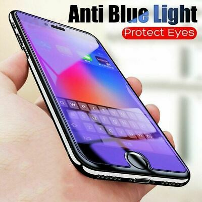 AU7.90 • Buy Anti BLUE Light Filter Glass Screen Protector For Apple IPhone 12 11 XR 8 7 XS