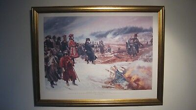 Napoleon - Burning The Eagles On The Retreat From Moscow Richard Caton Woodville • 10£