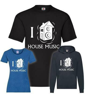 I Love House Music T-Shirt / Pullover / Hoodie • 15.56£