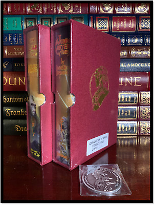 John Carter Of Mars - E.R. Burroughs Sealed Signed Limited Set 1/348 + Medallion • 399.99$