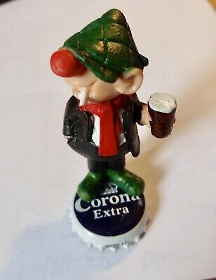 £12 • Buy Vintage Andy Capp  Figure CORONA LAGER  Schleich  Rare Standing On A CORONA TOP