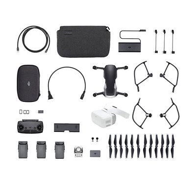 AU1415.42 • Buy DJI Mavic Air - Onyx Black Drone - Fly More COMBO & Goggles