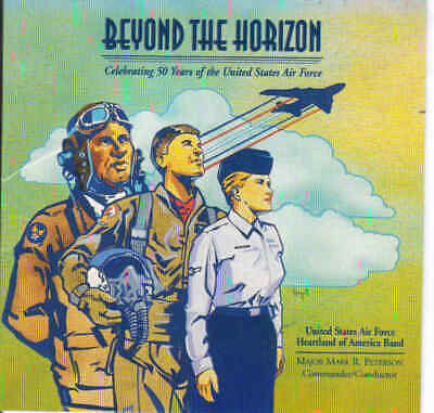 United States Air Force Heartland Of America Band [CD] • 10£
