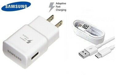 $ CDN12.58 • Buy Genuine Fast OEM Wall Charger+Type C Cable For Samsung Galaxy S10 S9 S8+ Note 9