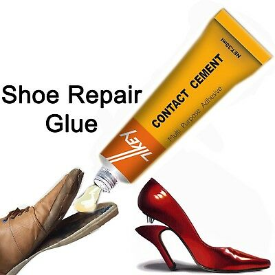Shoes Trainers Heel Sole Bond Fabric Rubber Leather Adhesive Glue Cement Repairs • 2.75£