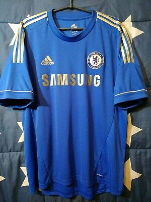 SIZE XL Chelsea England 2012-2013 Home Football Shirt Jersey • 50£