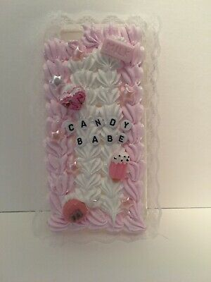 Candy Babe! Themed Decoden Harajuku Iphone Case For Iphone 6/6s • 14.99£