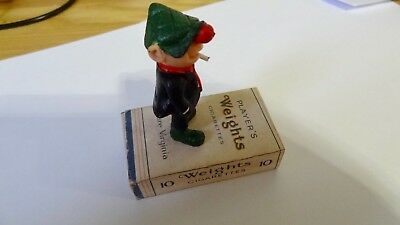 Vintage Andy Capp  Figure  Schleich Very Rare Standing On Weights  Cigarettes  • 12£