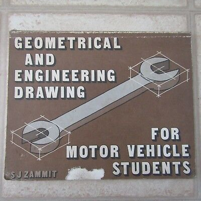 £17.50 • Buy Geometrical And Engineering Drawing For Motor Vehicle Students S J Zammit Book