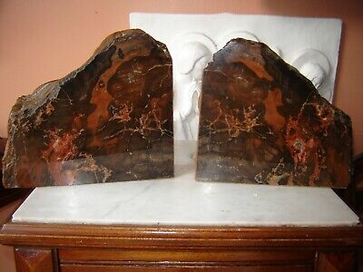 Specimen Stone Bookends • 35£