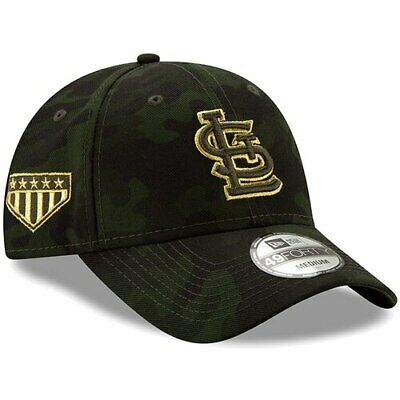 separation shoes 76d3e 0d93b St. Louis Cardinals New Era 2019 MLB Armed Forces Day 49FORTY Fitted Hat -  Camo