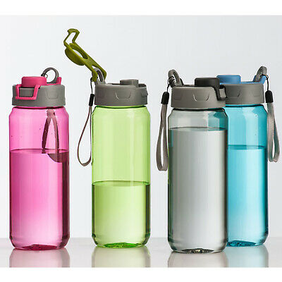 Mimo Tritan Sports Drinks Water Bottle BPA Free Bottles Gym Outdoor Travel Flask • 6.95£