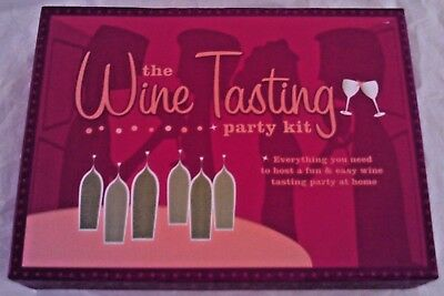 The Wine Tasting Party Kit • 19.99$