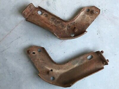 $566.71 • Buy 1970 Pontiac GTO Pair Of Front Bumper Brackets From A Texas Car NICE!