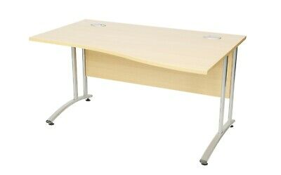 £166.80 • Buy Endurance 1400mm Right Handed Wave Desk (WxDxH) 1400x1000/800x730mm