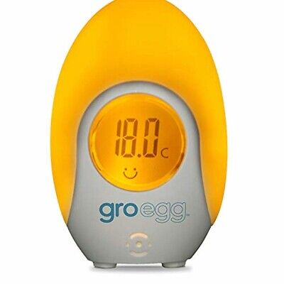 The Gro Company Gro Egg Room Thermometer Baby Kids Grow Digital **Free Delivery* • 25.04£