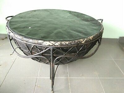 African Drum Coffee Table.African Furniture