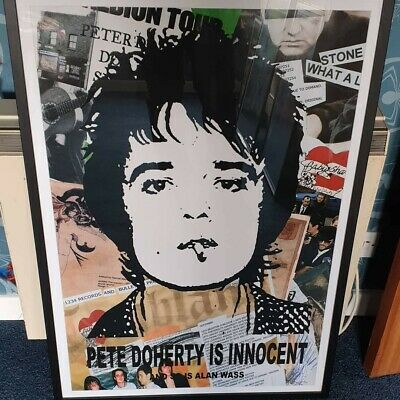 £30 • Buy Pete Doherty Poster The Libertines Babyshambles