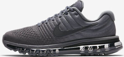 $110 • Buy Nike Air Max 2017 Men's Running Lifestyle Shoes 849559 008 Cool Grey, Anthracite