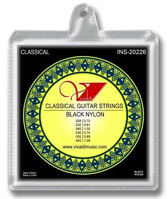 $ CDN9.96 • Buy Classical GUITAR STRINGS , Black Nylon