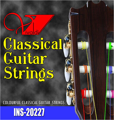 $ CDN11.24 • Buy Classical GUITAR STRINGS , Multicolored Nylon