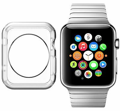 $ CDN1.79 • Buy For Apple Iwatch Series 1/2/3/4 Case TPU Screen Protector Ultra-thin 38-44mm Sl