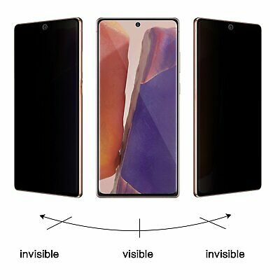 $ CDN7.53 • Buy Galaxy S8 S9 S10 S20 Plus Ultra 5G Note 8 9 10 20  Privacy Film Screen Protector