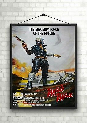 £9.50 • Buy Mad Max Classic Large Movie Poster Art Print A0 A1 A2 A3 A4 Maxi