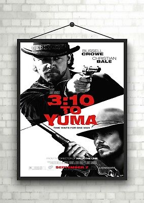$7.55 • Buy 3:10 To Yuma Classic Large Movie Poster Print A0 A1 A2 A3 A4 Maxi