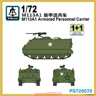 $15.09 • Buy S-model 1/72 PS720070 M113A1 Armored Personnel Carrier  (1+1)