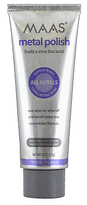 $29.35 • Buy Maas Concentrated Metal Cleaning & Polishing Creme, 113g