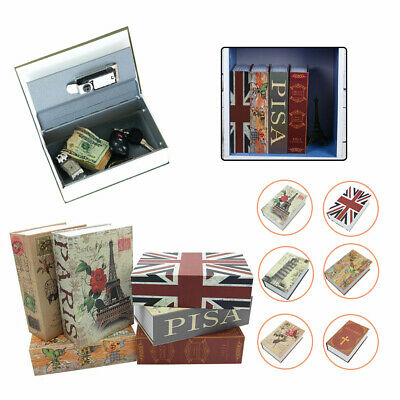 Hidden Security Cash Money Storage Lock Secret Dictionary Book Safe Box Case UK • 7.59£