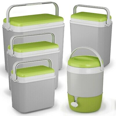 Large 10-36 Litre Cooler Box Camping Beach Lunch Picnic Insulated Food Ice Packs • 10.99£
